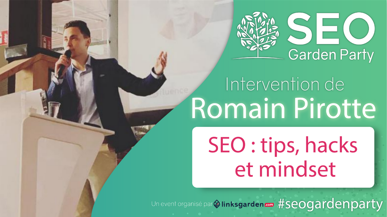 Romain Pirotte seo garden party par linksgarden